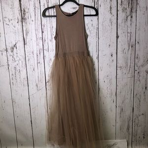 FOREVER 21 Tulle Tank Dress Small